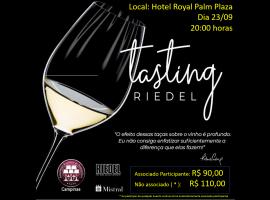 23/09 – Riedel Wine Tasting