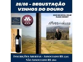 26/08 – Degustação Domingos Alves de Sousa