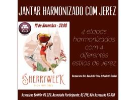 Sherry Week 2021 - Jantar Harmonizado Osti
